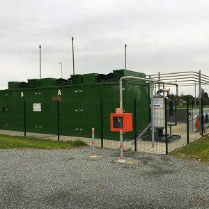 Stzione di BioMetano in Francia