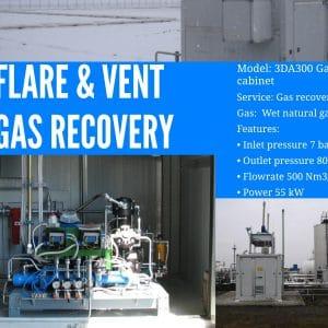 Flare Fat gas di recupero