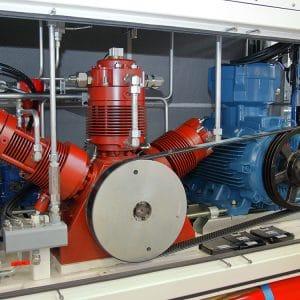 Skid con compressore Alternativo SA200