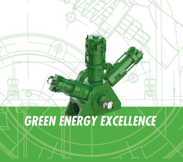 SA200 green compressor
