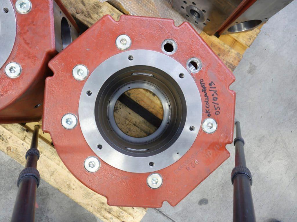Dettaglio del compressore alternativo DA300