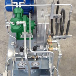 SA50 recovery gas compressor